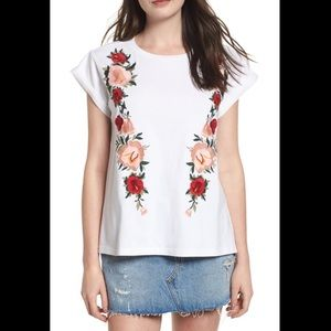 BP Floral Embroidered T-Shirt